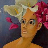 Katrina Abrahams. Jamaican Artist
