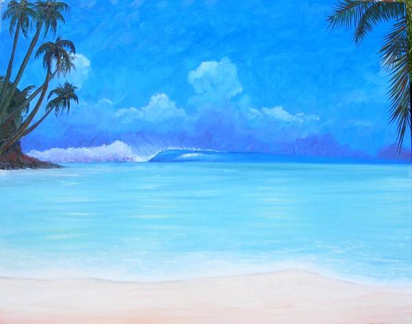 Tropical blue (Original Sold)