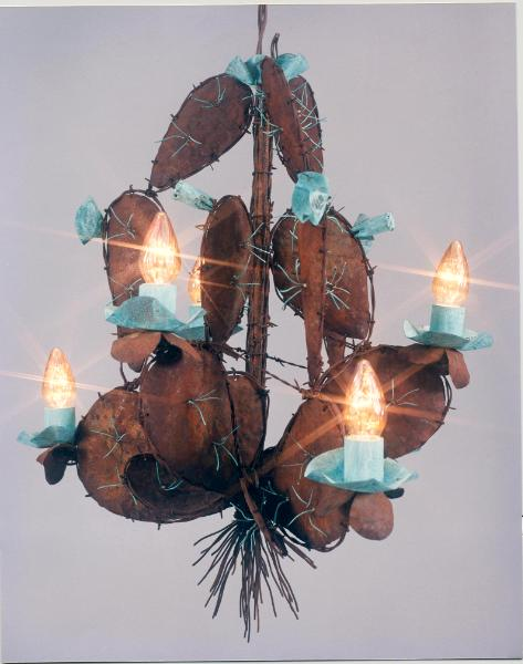 Prickly-Pear Chandelier