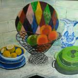 Still Life with Citrus