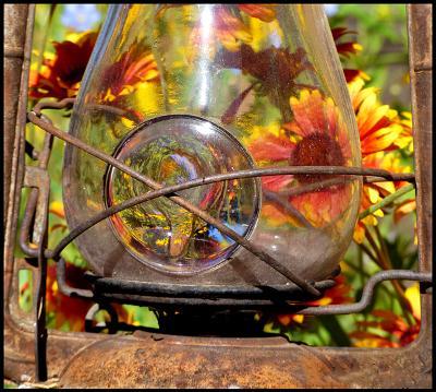 Flower Garden Lattern