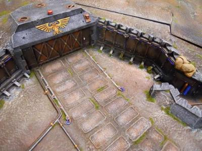 This was painted to go with this client's Realm of battle board we painted in 2010.