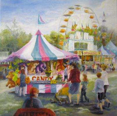 Candy and Teddy Bears, At the Fair