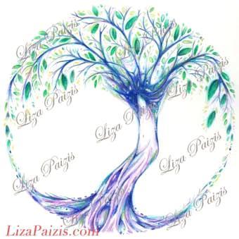 Tree of Life original drawing custom Tattoo design