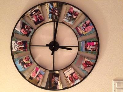 Selfie Clock