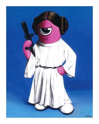 Princess Leia Rosie