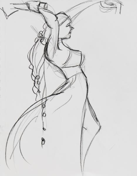 Amber, Standing Barbarian 3