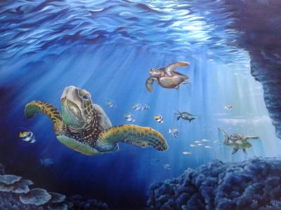 Sea Turtles prints