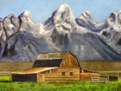 Rocky Mountain Homestead