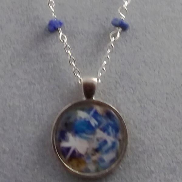 Dragonflies Gemstone Necklace