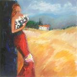Girl&landscape