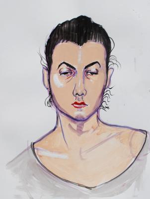 Nat, Frontal Portrait