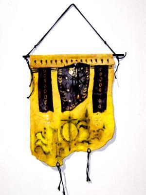 Yellow Wallhanger