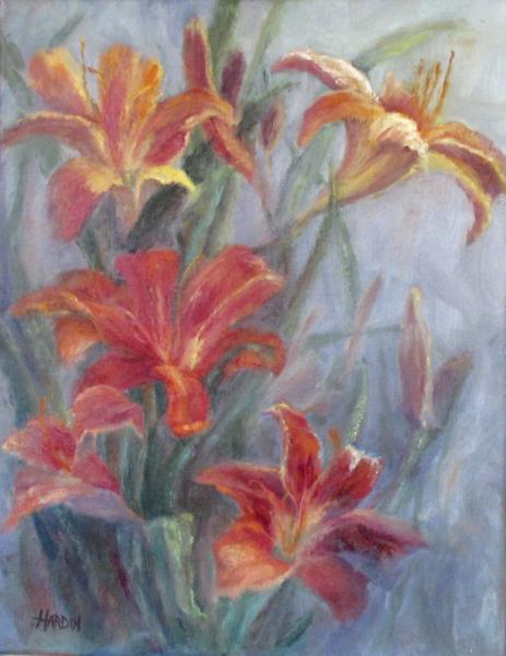 Garden Fresh, Orange Daylilies