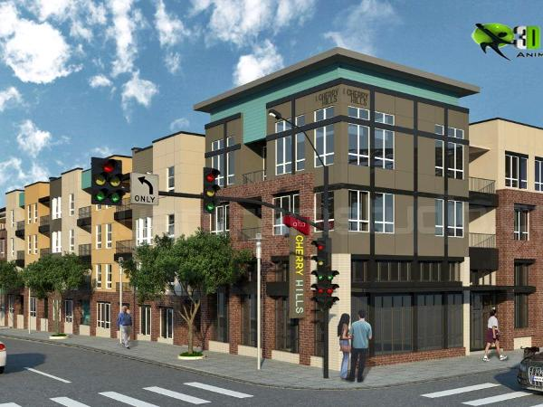 3D Residential Exterior Cgi Design