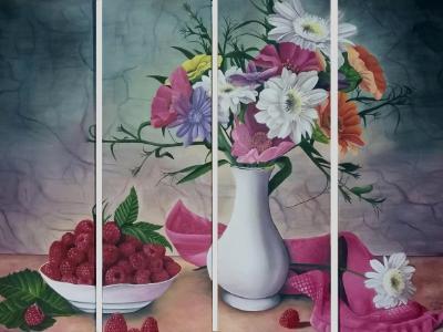 Raspberry Bouquet