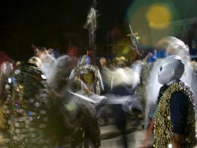 Dancing at the Parade