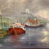 """Morning at  Peggy's Cove, Oil, 30"""" x 20"""" NFS"""