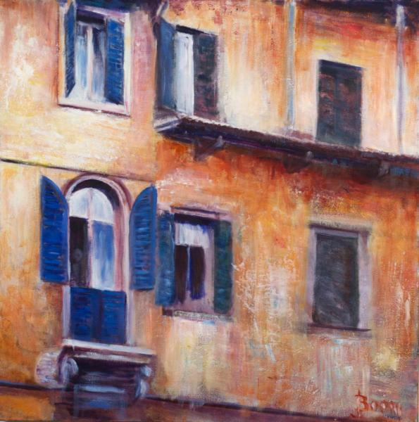 Wall in Tuscany 2 - SOLD