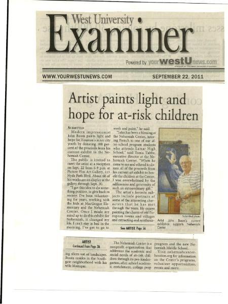 West U Examiner Article