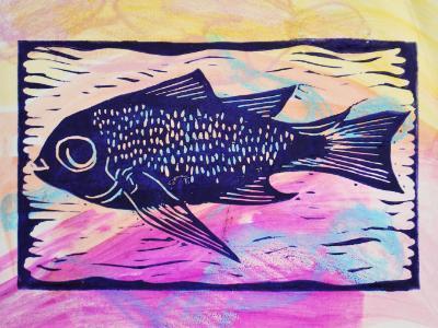 Fish (Pastel)