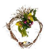 Heart Shape Floral Decoration