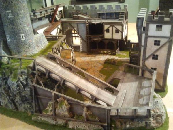 WHFB Betonian Castle 2' display