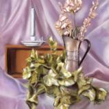 Still Life with Copper Vase