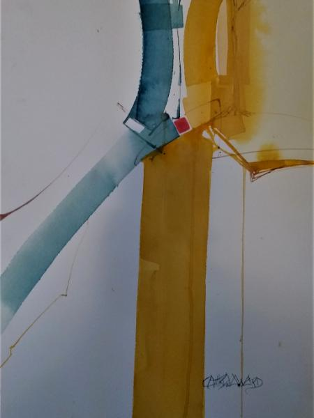 Primary Balance (watercolor)