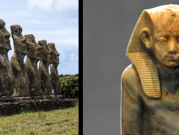 Easter Island and Middle Period Egypt images