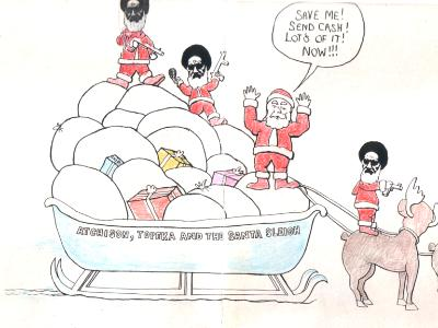 Santa Kidnapped- Inside