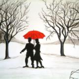 Romance in the snow
