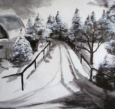 Winter Road Home SOLD