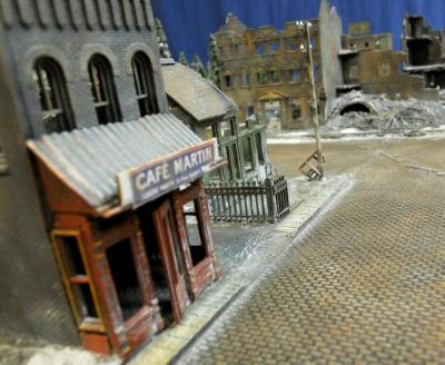 "FOW (15mm) ""Battle of the Bulge"" terrain set for Dragons and Dragoons in Colorado."