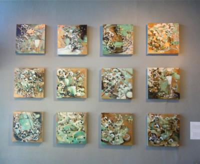 """""""veil"""" paintings exhibit"""