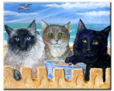 SIMONE, RIZZO & BAGHERRA AT THE BEACH