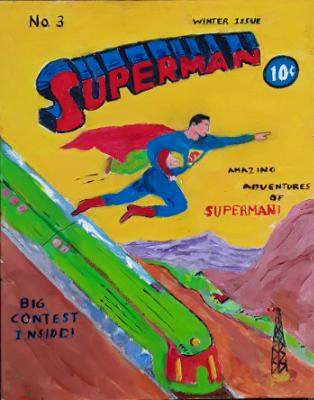 Superman Comic Cover #3 Issue 1939