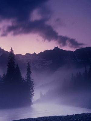Sunrise - Glacier National Park