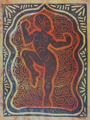 Temple Dancer (Brown)
