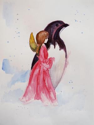 Angel and Penguin