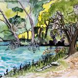 Watercolor - Places