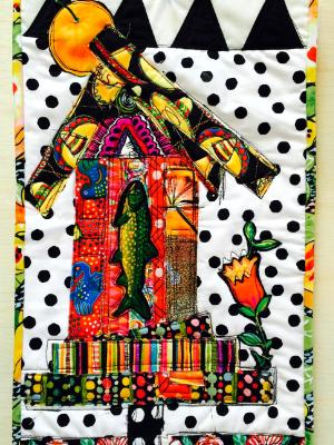 Birdhouse with Sombreros