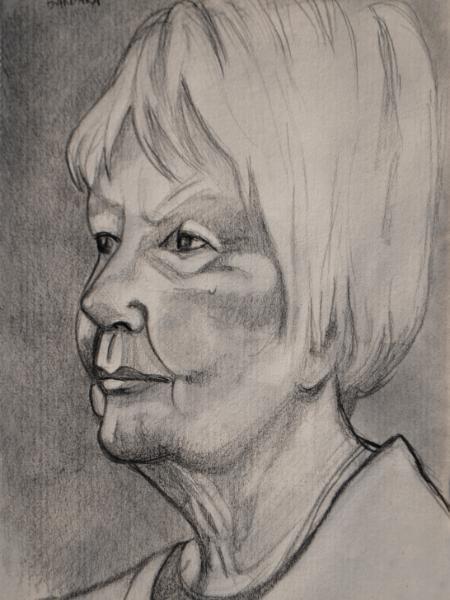 Barbara, Looking Left