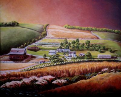 Private Commission Pennsylvania Family Farm