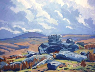 On Bodmin Moor (Showery Tor)