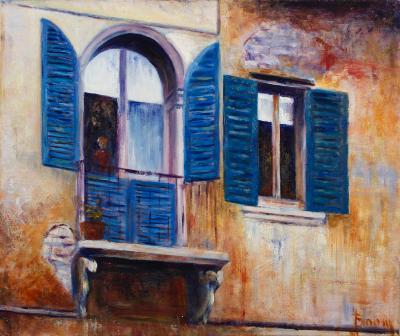 Balcony in Tuscany - SOLD