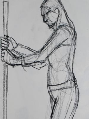 Kat, Holding Pole