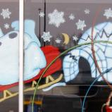 Frosty crashing