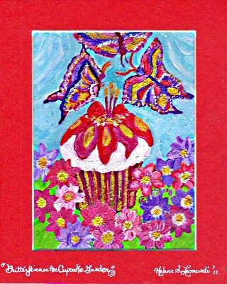 Butterflies in the Cupcake Garden
