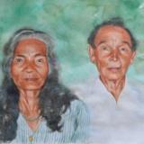 Portrait of a couple, 80cm x 60cm, 2015